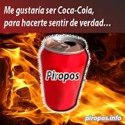 Me gustar�a ser Coca Cola