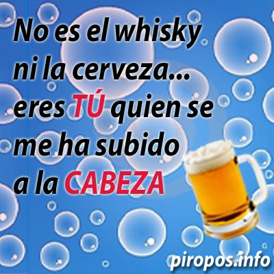 No es el whisky Piropos.INFO